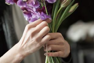 レコールブランお花への想いイメージ