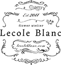 フラワーアトリエ・レコールブラン トップページロゴ